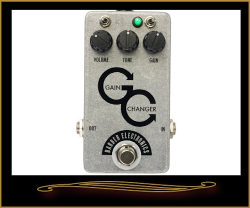 Barber Electronics Gain Changer Overdrive Pedal