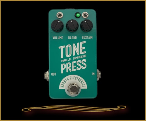 Barber Electronics Compact Tone Press Compressor Pedal