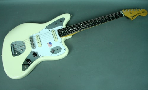 Fender Johnny Marr Signature Jaguar Electric Guitar Olympic White O