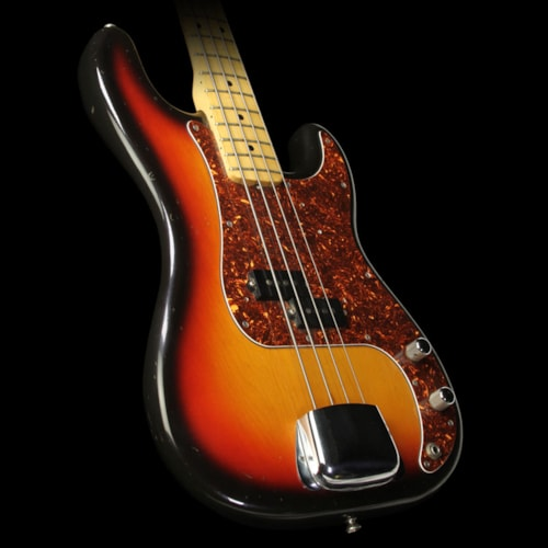 Fender Used 1976 Fender Precision Bass with A-Neck Profile Electric Bass Sunburst