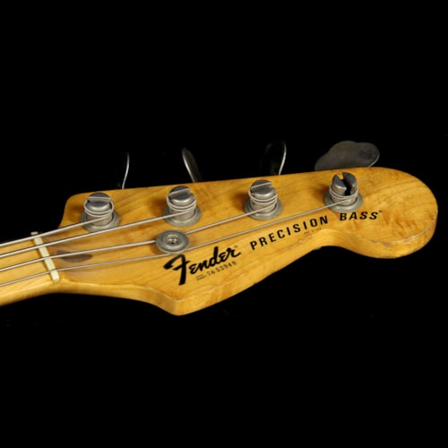 Fender® Used 1976 Fender® Precision Bass® with A-Neck Profile Electric Bass Sunburst