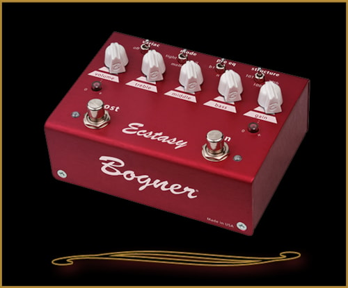 Bogner Ecstasy Red Overdrive/Distortion Pedal