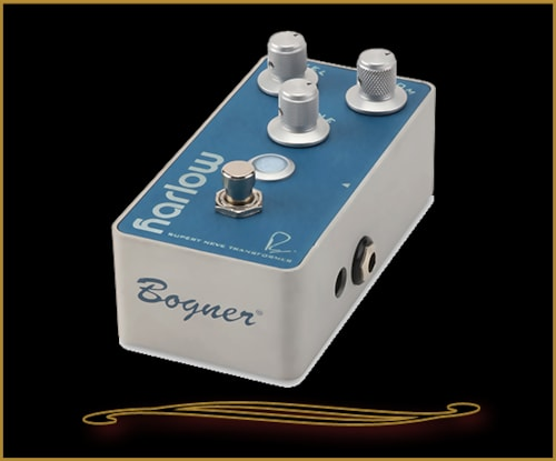 Bogner Harlow Boost Pedal with Bloom Compression