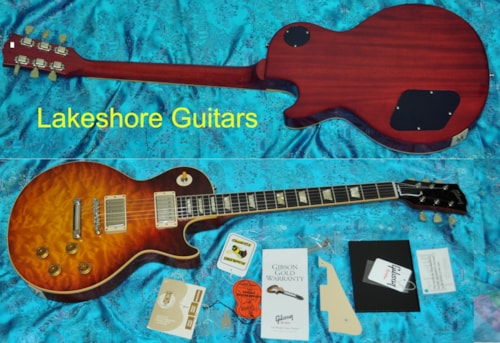 2011 Gibson 59 Les Paul Custom Shop Historic R9 Quilt
