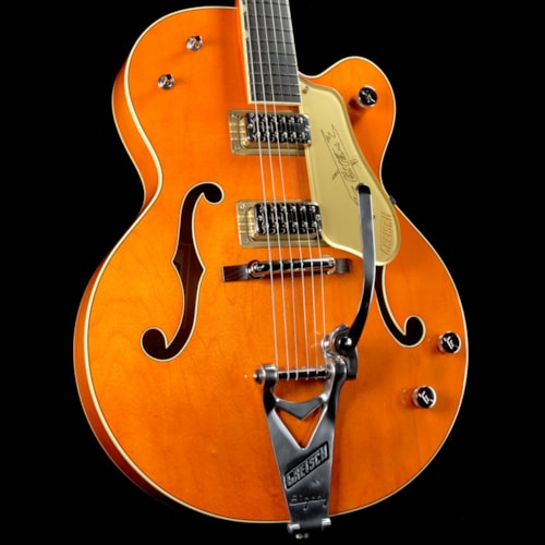 1959 Gretsch G6120T-59GE Vintage Select 1959 Chet Atkins Hollow Body with Bigsby Vintage Orange Stain
