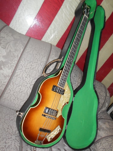 1965 HOFNER Violin Bass 500/1