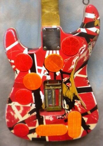 Mean Street Guitars Frankenstrat
