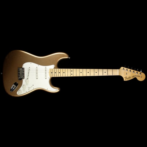 Fender® Custom Shop Builder Select Greg Fessler 1969 Stratocaster® Electric Guitar Firemist Gold