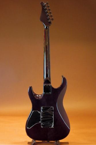 2015 Pensa Custom Guitars MK-1 SSH Style / Trans Black