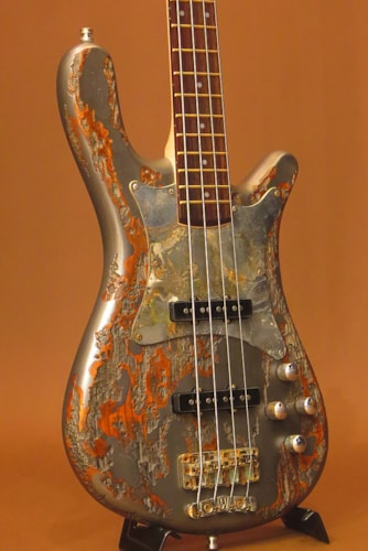 "2015 Warwick Custom Shop Streamer CV ""Metal Relic"""