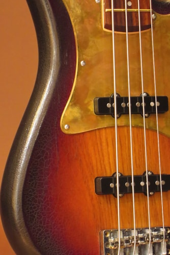 "2015 Warwick Custom Shop Streamer CV ""Vintage Sunburst Aged"""