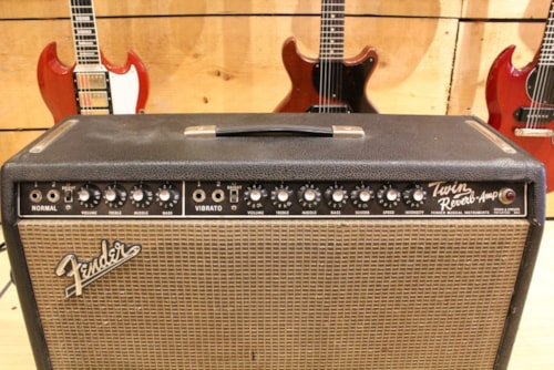 1966 Fender® Twin Reverb® amp