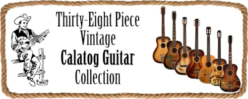 38 Piece Catalog Guitar Collection
