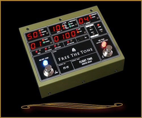 Free the Tone Flight Time Digital Delay