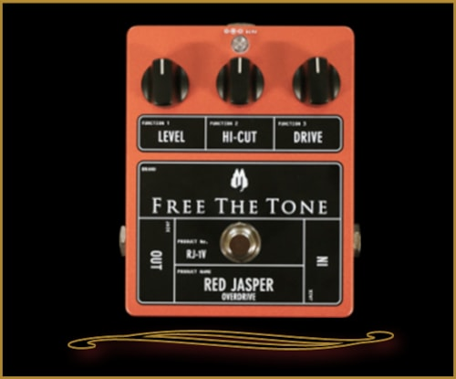 Free the Tone Red Jasper Low Gain Overdrive