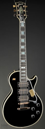 2013 Gibson 20th Anniversary 1957 Les Paul Custom Black Beauty 3 PU