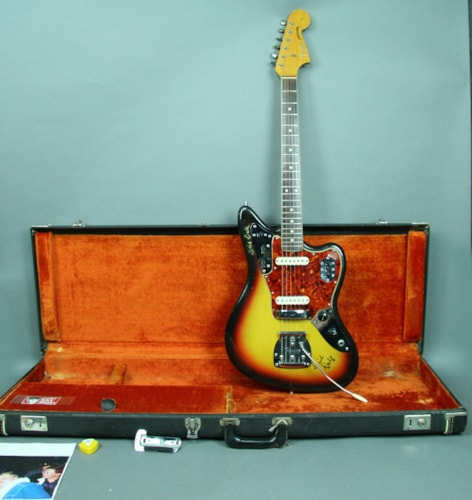 1965 Fender Jaguar Dick Dale Signed