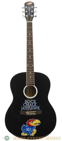 College Guitars KU Jayhawk Guitar