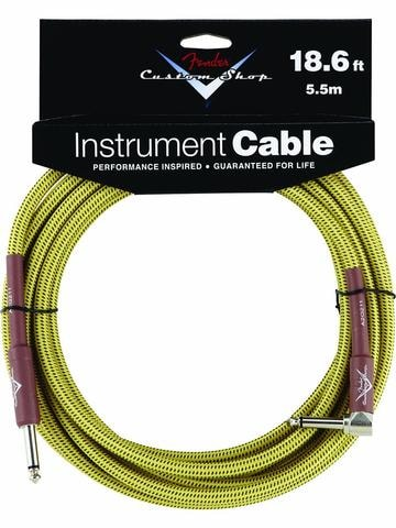 2014 Fender® 18.6' Right Angle Tweed Instrument Cable