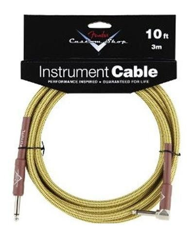 2014 Fender® 10' Right Angle Tweed Instrument Cable
