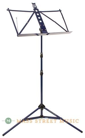 2014 Strukture 3-Part Adjustable Music Stand with Bag, Blueberry