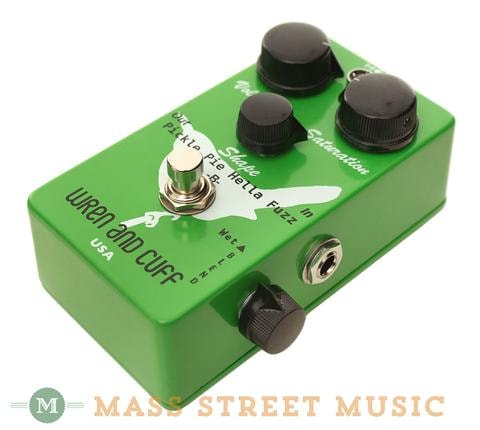 2014 Wren and Cuff The Pickle Pie B Hella Bass Fuzz Pedal