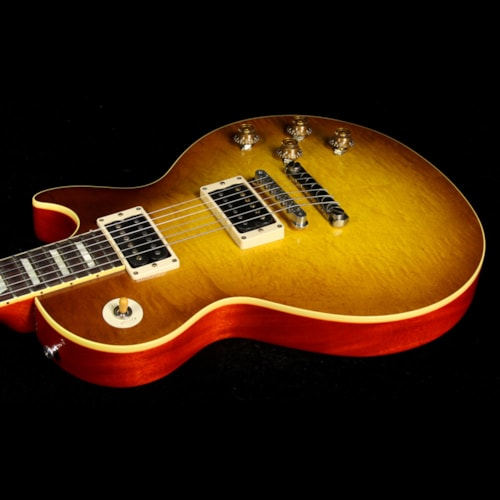 Gibson Custom Shop Used 2013 Gibson Custom Shop Duane Allman '59 Les Paul Electric Guitar VOS Double Dirty Lemon