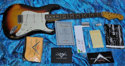 2013 Fender® 62 Stratocaster® Custom Shop Relic®