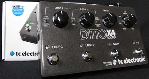 2016 TC Electronic Ditto X4 Looper