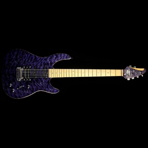 Brian Moore Used 2008 Brian Moore C90P Electric Guitar Transparent Purple