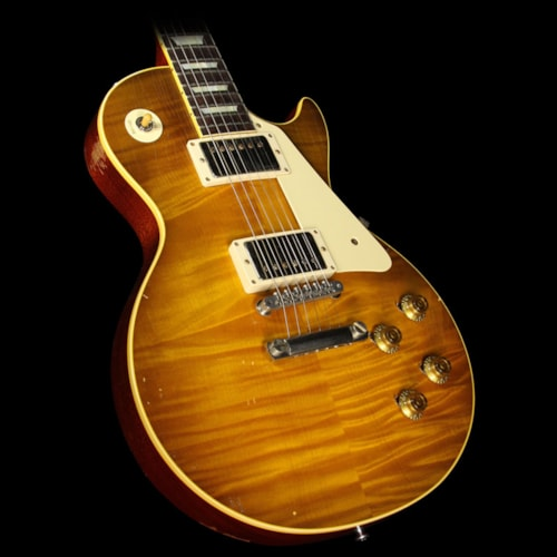 Gibson Custom Shop Used 2015 Gibson Custom Shop Collectors Choice 24 Charles Daughtry Nicky 1959 Les Paul Electric Guitar Lemonburst