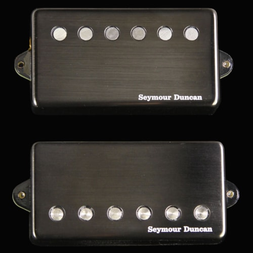 Seymour Duncan Jeff Loomis Signature Blackouts Humbucker Pickup Set (Black)