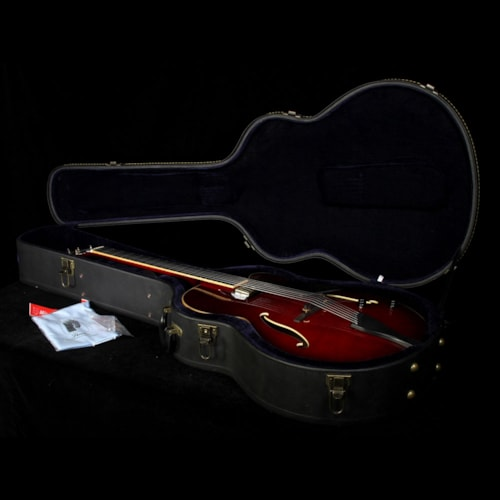 Peerless Used Peerless Leela Archtop Electric Guitar Cherry