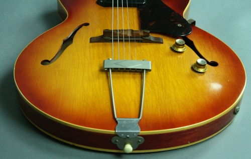 1964 Gibson ES-125TC Cherry Sunburst Vintage Hollowbody Electric Guitar
