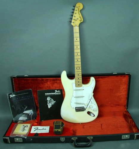 1974 Fender Stratocaster Vintage American Electric Guitar Olympic White