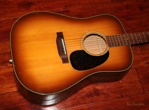1975 Martin D-18 Shaded Top