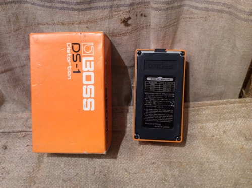 1985 Boss DS-1 Distortion Made in Japan Circa 1985 w/box