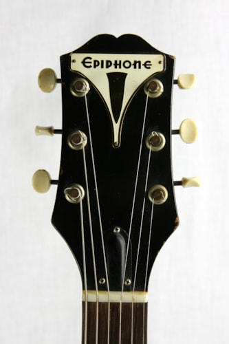 1959 Epiphone Coronet! Black, Slab-Body, New York Pickup