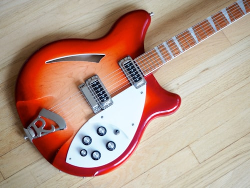 2010 Rickenbacker 360 Electric Guitar Fireglo Finish, Near Mint w/ ohsc