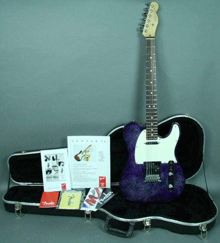 1994 Fender® Telecaster® 40th Anniversary Aluminum Electric Guitar USA w/