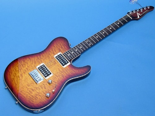Tom Anderson Guitarworks Hollow Cobra with Quilt Top