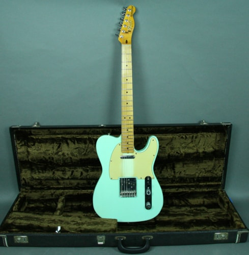 1978 Fender® American Telecaster® Vintage Electric Guitar Seafoam Green w/