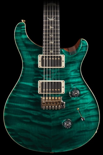 PRS Custom 24 Artist Package Turquoise Flame Maple Neck (131) Custom 24