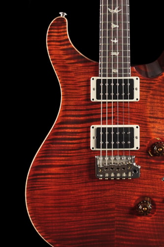 PRS Custom 24 Orange Tiger 10 Top (634) Custom 24