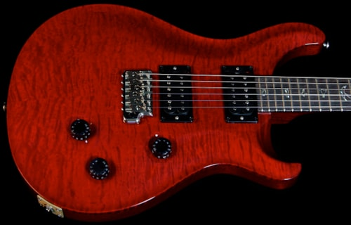 PRS Custom 24 Scarlet Red Quilt 10 Top Custom 24