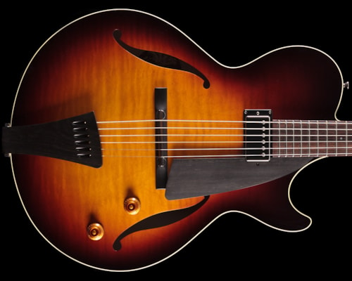 2012 Collings Eastside LC Tobacco Burst (016) Eastside LC