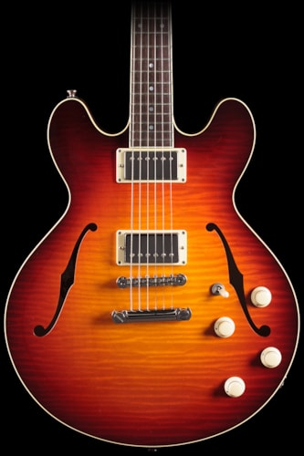 2014 Collings I-35 LC Deluxe Dark Cherry Sunburst (400) I-35 LC Deluxe