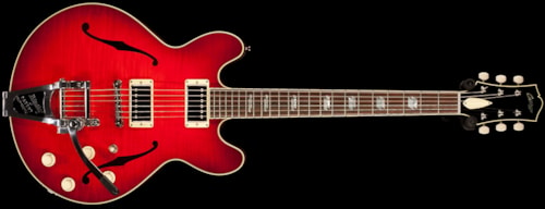 2014 Collings I-35 LC Deluxe Scarlet Sunburst w/ Bigsby (494) I-35 Deluxe
