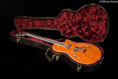 Taylor T3 Flamed Maple Top Orange (163) T3