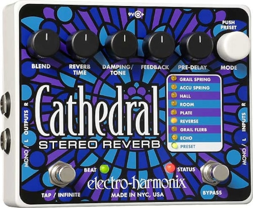 Electro-Harmonix Cathedral Stereo Reverb Cathedral Stereo Reverb